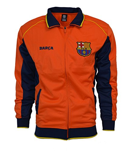 (Fc Barcelona Jacket Track Soccer Adult Sizes Soccer Football Official Merchandise (M))