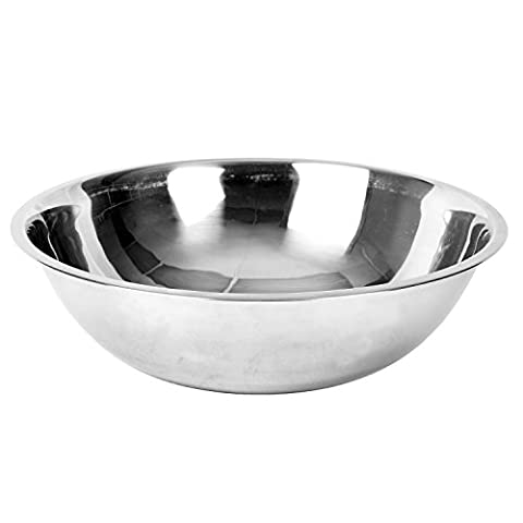 Excellante Mixing Bowl, Heavy Duty, Stainless Steel, 22 gauge, 13 quart, 0.8 mm