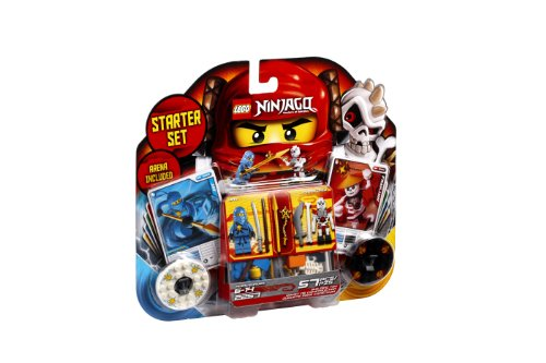 Lego Ninjago Spinjitzu Starter Set 2257  Discontinued By Manufacturer