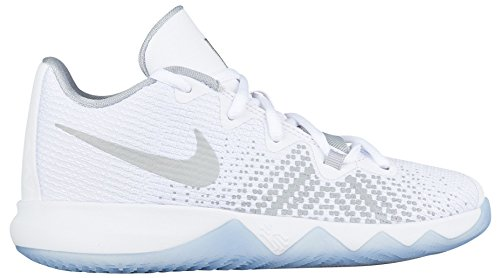 purchase cheap 00e39 5d863 Nike Kids  Preschool Kyrie Flytrap Basketball Shoes (2, White Metallic  Silver)