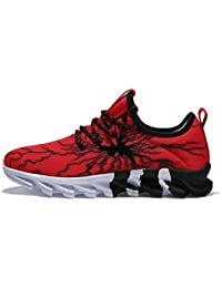 Men's Athletic Running Sports Shoes Mesh Breathable Fashion Sneakers