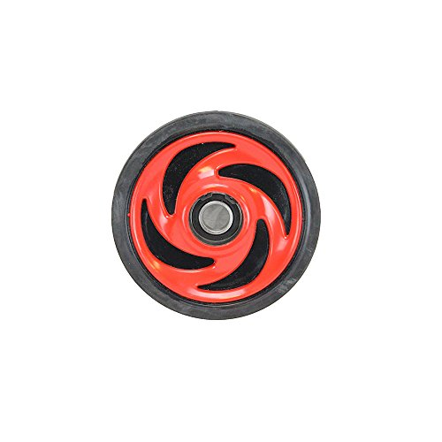 Genuine Polaris Part Number 1590303-293 - ASM.,WHEEL,IDLER,HP,INDY RED for Polaris ATV / Motorcycle / Snowmobile/ or Watercraft ()