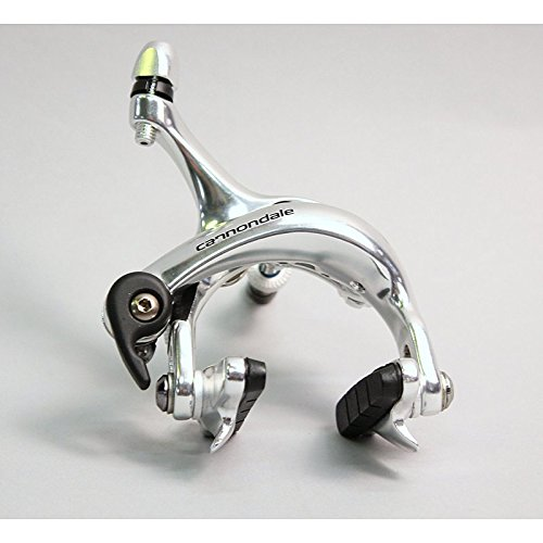 Tektro R720 Road Brake Caliper 39-49mm Recessed Nut - Cannondale Logo - Silver