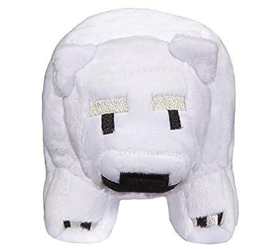 JINX Minecraft Baby Polar Bear Stuffed Figure from JINX