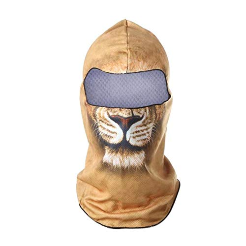 Car accessories - 1PCS Cycling Bicycle Motorcycle Printed Windproof Cap Balaclava Headgear Full Face Mask Winter Halloween Full Cycling Face Mask]()