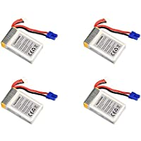 4 x Quantity of Walkera Rodeo 150 150-Z-27 Li-po Battery 7.4V 850mAh 25C 2S Power