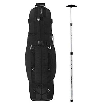 Club Glove Last Bag Collegiate Golf Travel Cover w  Free Stiff Arm (Black) 384d961ada