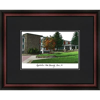 Image of Campus Images NCAA Appalachian State Mountaineers Academic Framed Lithograph Fan Shop