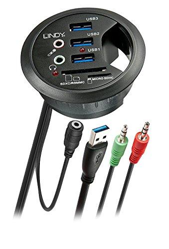 LINDY USB 3.0 Desk Hub und Card Reader