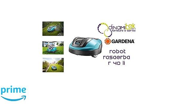 Mähroboter 4071-32 Robot cortacésped R40 LI: Amazon.es: Bricolaje ...