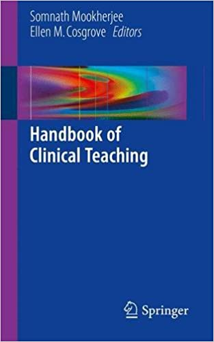 Handbook of Clinical Teaching