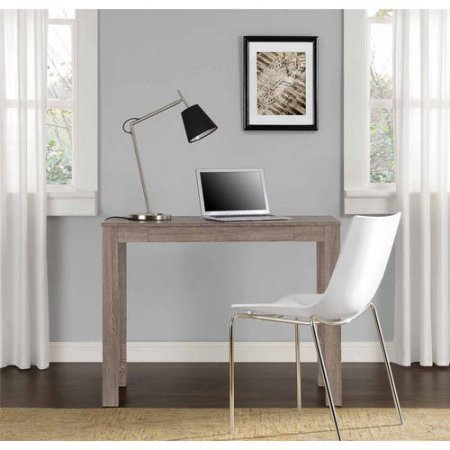Mainstays Parsons Desk with Drawer,Sonoma Oak by Mainstay