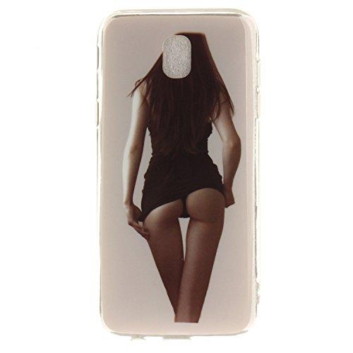 Téléphone Transparent 2017 beauty J5 Cas En Résistant Motif Silicone Couverture Samsung De De Cas Antichoc J530 Peint Slim TPU Scratch Hozor Arrière Bord Fit Souple Galaxy Protection 1t4qF
