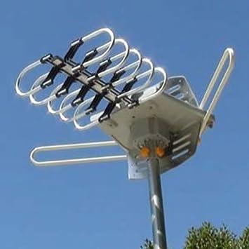 EZ Mounts MOUNT-IT.-Nueva motorizada HD TV digital Antena amplificada de más de el aire – OUTD