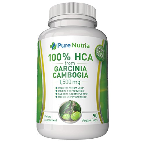 1500mg Pure HCA from Garcinia Cambogia Extract. Extra