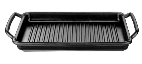 Bra Solid+ Grill Pan 40 x 28 cm Teflon Coated with Grooves