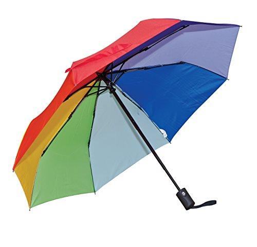 Frankford Umbrella (Elite Rain's Couture Collection Mini Triple-Fold Umbrella (Rainbow))