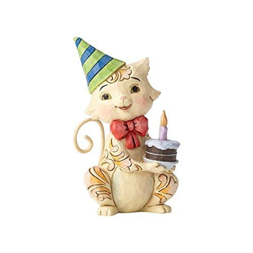 Enesco Jim Shore Heartwood Creek Mini Birthday (Heartwood Creek Cats)