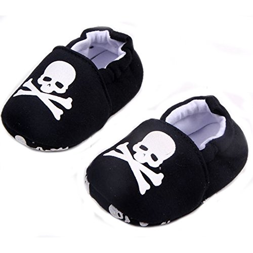 ELee Baby Toddler Cartoon Animal Soft-sole Non Slip House Slipper Shoes Socks First Walkers (9-12M, #8 (Cartoon House)