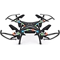 Nesee Christmas Gift X13D Drone 2.4GHz 4CH Led Mini Remote RC Quadcopter 3D Rollover (Black)