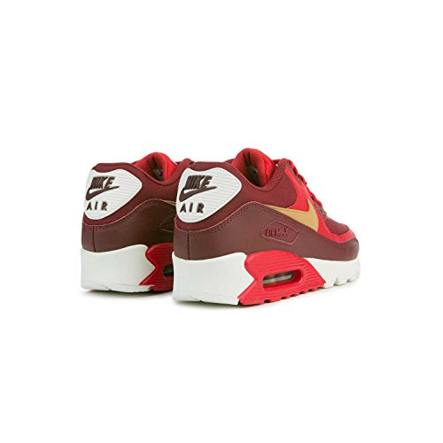 Trainers Nike Leather Essential Red Gold 41 Mens Air Max 90 EU Bwxn6Hq8B