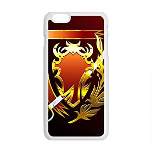 Red Sword Pattern Custom Protective Hard Phone Cae For Iphone 6 Plus