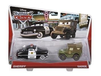 Radiator Sherif Springs Disney Véhicule Voiture Et Cars Sarge 354AjRL