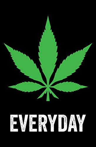 Damdekoli Marijuana Leaf Poster, 11x17 Inches, Bong Wall Art Print, Weed Cannabis Decor, Smoking Pot, College Dorm