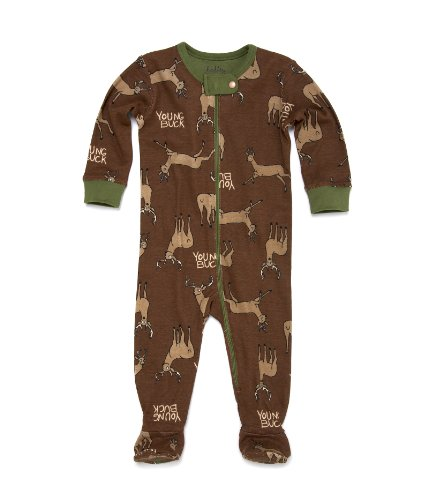 Hatley Footed Coverall Young Buck, 12   18 Months ()