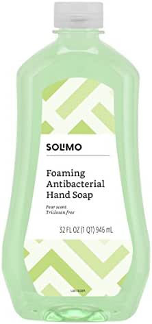 Hand Soap: Solimo Foaming Antibacterial Hand Soap