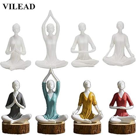 Amazon.com: ZAMTAC - Figuras de yoga para niña (4 estilos ...