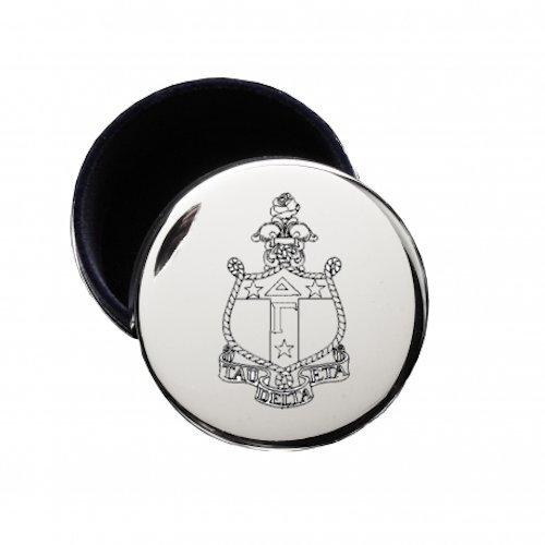 Delta Gamma Crest Pin Jewelry Box for Delta Gamma Necklaces & Rings ()