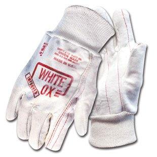 White Ox Heavy-Duty Work Gloves (dozen) by WoodlandPRO (Image #1)