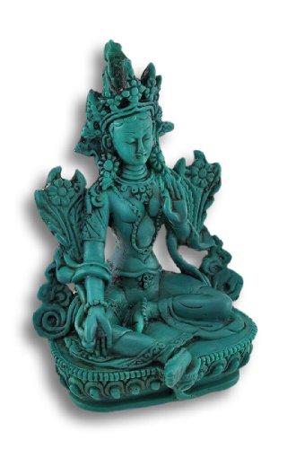 Things2Die4 Buddhist Green Tara Statue