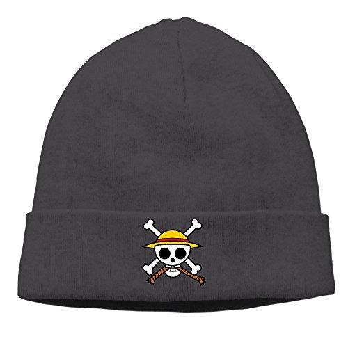 0EJDD Famouse Anime One Piece Primary Logo Beanie Winter Hat Watch Cap