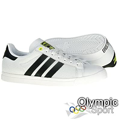 buy online 7bf44 bd8ec Adidas Court Star Mens Trainers U42689  Amazon.co.uk  Shoes   Bags