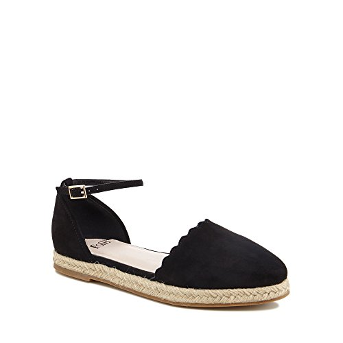 Debenhams Faith Womens Black Suedette 'Abe' Espadrilles 2x7ZY8
