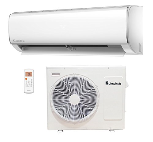 Klimaire 36,000 BTU 16 SEER Ductless Mini-Split Inverter Air Conditioner Heat Pump with 15 ft Installation Kit 208 230V