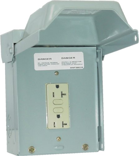Midwest U010010 20 Amp Outlet Box with GFCI
