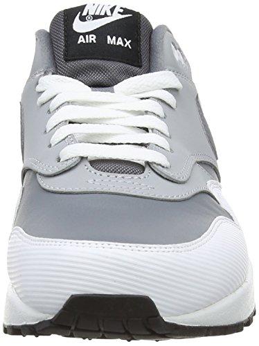 Nike Air Max 1 Leather - Zapatillas de sintético para hombre gris Grey (Cool Grey/Wolf Grey/White) 39