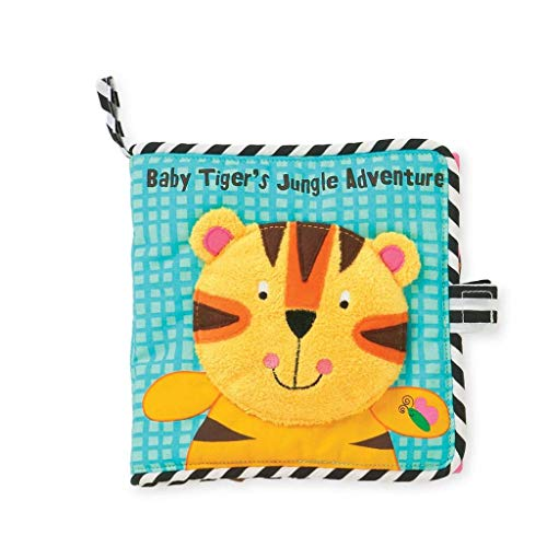 Manhattan Toy Tiger's Jungle Adventure Soft Book