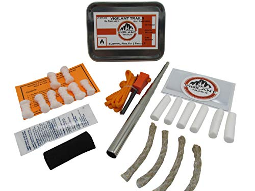 Vigilant Trails® Survival Fire Kit | Stage 2