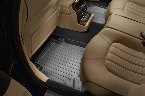 WeatherTech Custom Fit Rear FloorLiner for Toyota Yaris/Scion xD (Black) (2010 Scion Xd Weathertech compare prices)