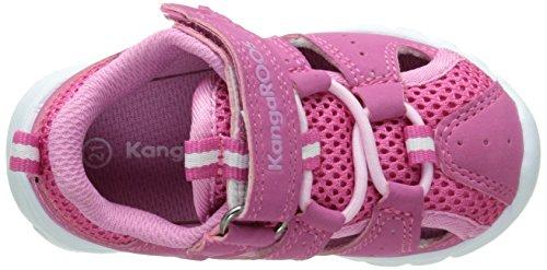 KangaROOS Rock Lite - Sandalias Bebé-Niños Rosa - Pink (lillipilli/begonia 660)