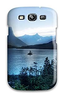 Hot New Arrival Case Cover With Design For Galaxy S3- Glacier National Park