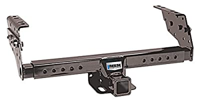 """Reese Towpower 37042 Class III Multi-Fit Receiver Hitch with 2"""" Receiver opening, Black"""