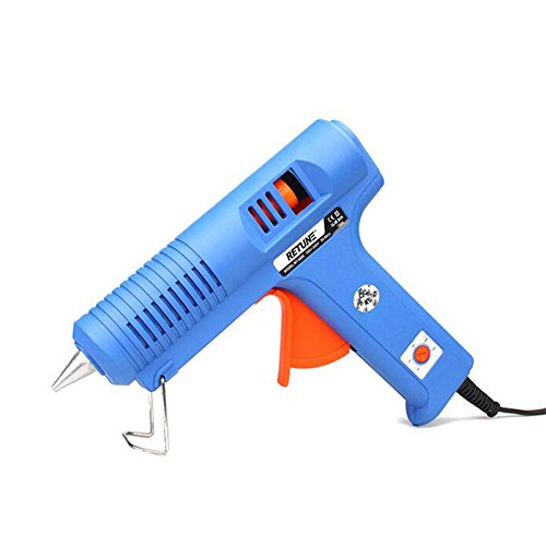Eu Plug 100-240V 150W High Power Adjustable Constant Temperature Hot Melt Glue Gun Use 11Mm Glue Sticks Electric Hand Tools Diy 2-Blue
