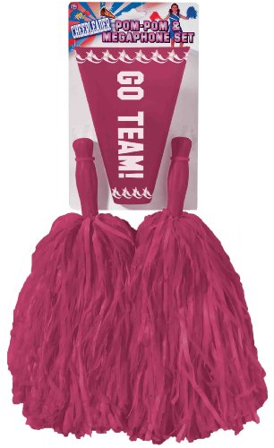 Forum Novelties Cheerleader Pom Set