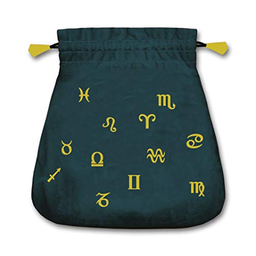 - Astrological Velvet Tarot Bag