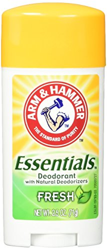Arm & Hammer Essentials Deodorant, Fresh, 2.5 Ounce